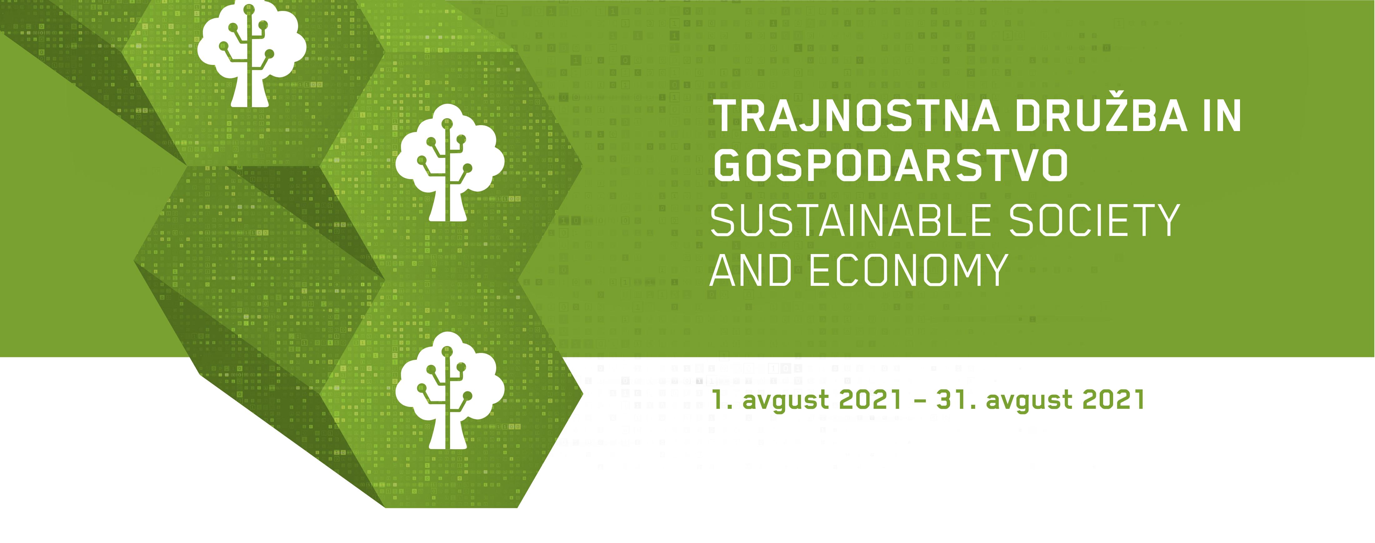 Banner-trajnostna družba in gospodarstvo