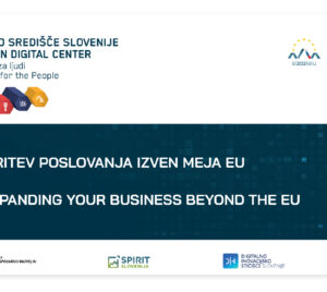 Širitev poslovanja izven meja EU