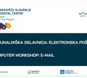 Računalniška delavnica: Elektronska pošta
